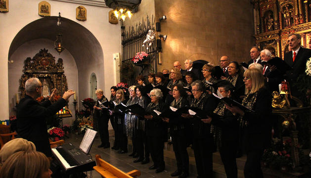 El concert es va celebrar a l'església parroquial d'Ordino.