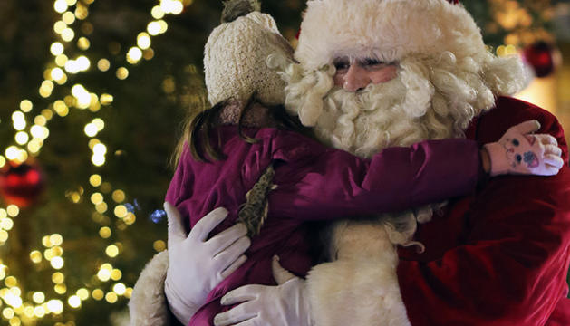El Pare Noel visita totes les parròquies