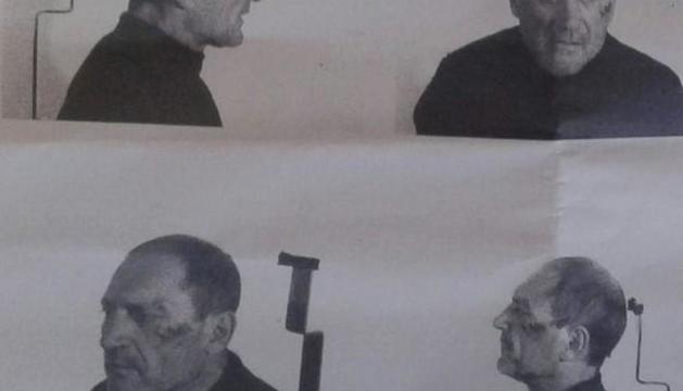 Martí Cots en una imatge policial relativament recent.