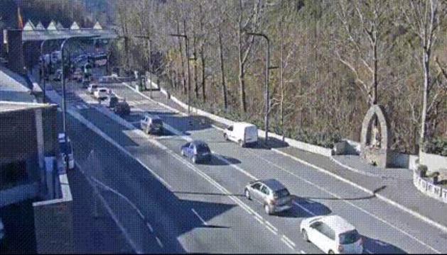 Imatges de les càmeres de trànsit del servei viari