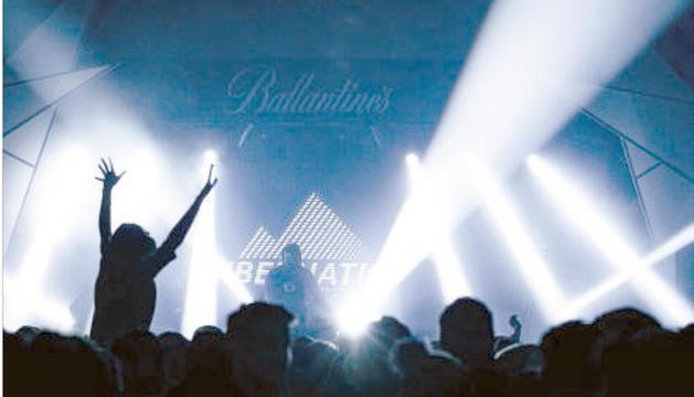 Imatge de la primera edició de l'Hibernation al Pas de la Casa, un festival en vies de consolidació.