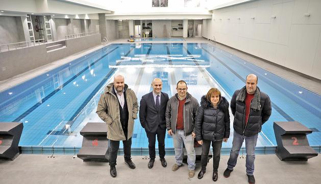 Abonats dels Serradells, a les piscines d'Escaldes