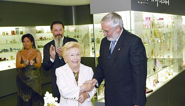 Acte d'inauguració del Museu del Perfum