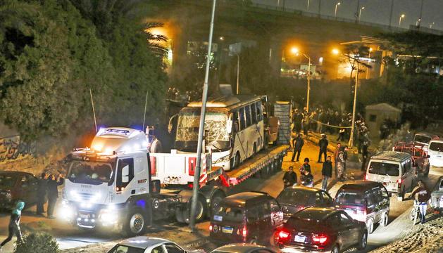 L'atac de divendres va tenir lloc a la zona de Gizeh.