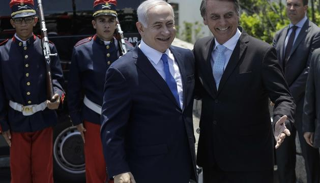 Netanyahu va fer un viatge oficial al Brasil.