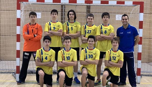 La selecció nacional cadet.