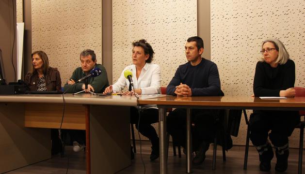 Roda de premsa per comunicar als mitjans la sentència del TS en relació al GAdA