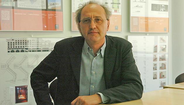 L'arquitecte Antoni Pol.