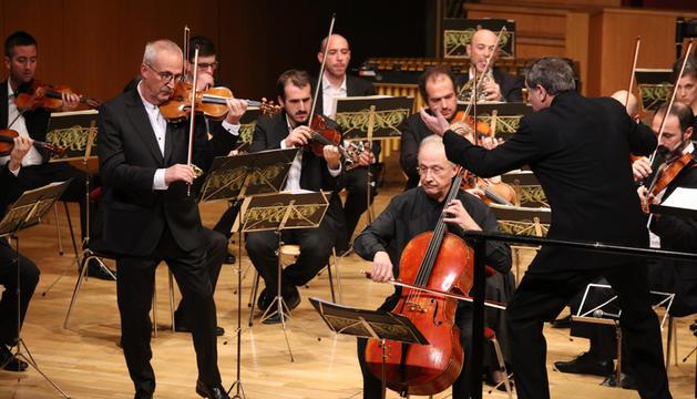 Brotons i els Claret, al concert a l'Auditori Nacional.