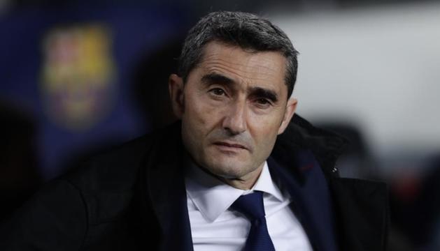 El tècnic del Barça, Ernesto Valverde, no aclareix el futur.