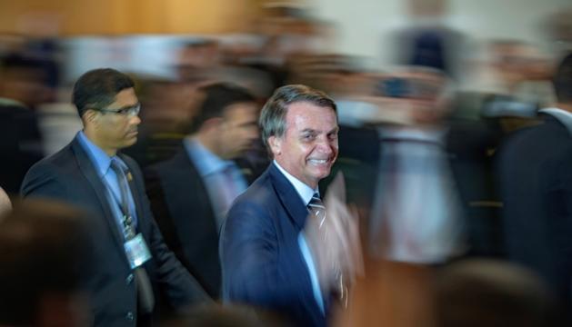 Bolsonaro, que va prendre possessió del càrrec dimarts.