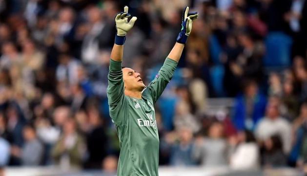 Keylor Navas seguirà al Reial Madrid fins al 2021.
