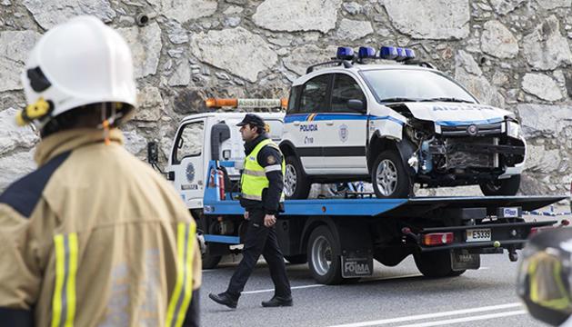 Estat del vehicle policial
