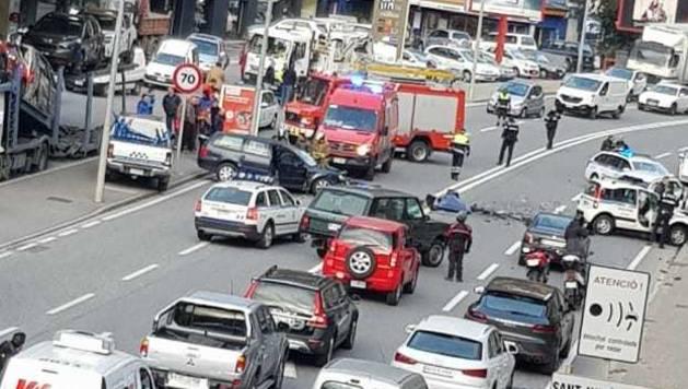 Retencions provocades per l'accident