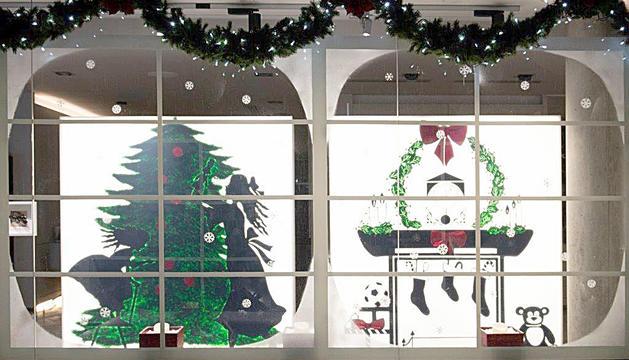 LOpti-k guanya el premi al millor aparador de Nadal