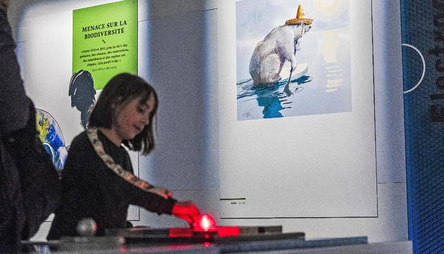 Inaugurada la mostra 'Ça chauffe pour la planète' al museu mw