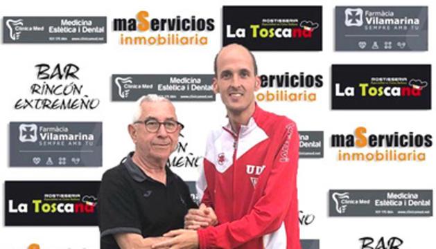 Raúl Paje, a la dreta de la imatge.