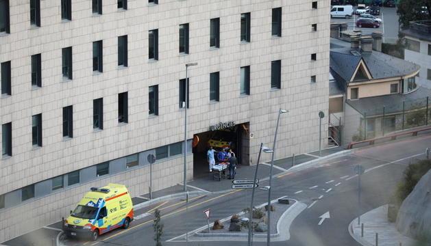 Les estades a urgències s'han prorrogat més d'un dia per falta d'habitacions