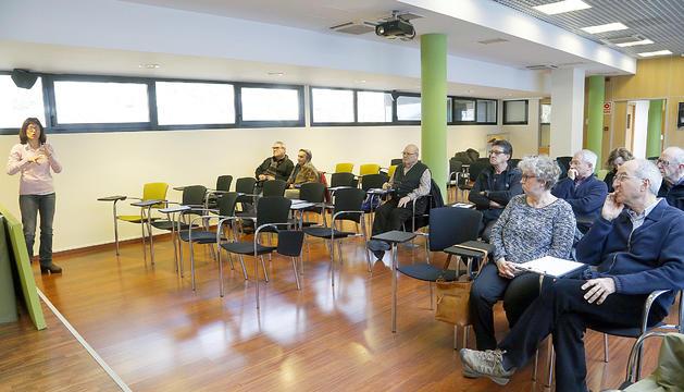 L'aula magna ofereix sessions sobre diversos àmbits de coneixement com la salut, la tecnologia o l'economia