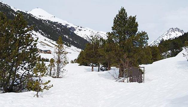 Vista general de la vall d'Incles durant el recorregut