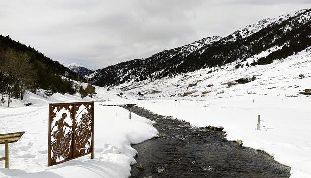 El riu d'Incles és el protagonista de la ruta