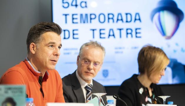 Presentació de la 54a Temporada de teatre conjunta d'Andorra la Vella i Sant Julià de Lòria