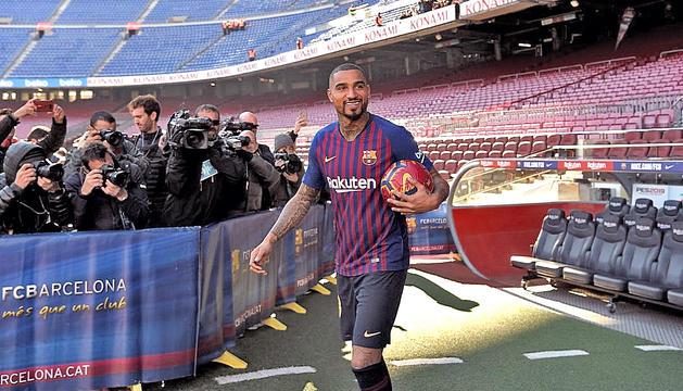 Boateng vol quedar-se molts anys a l'FC Barcelona
