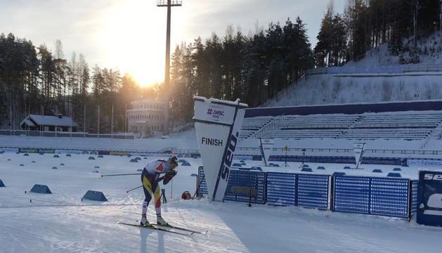 Carola Vila aquest matí a Finlàndia