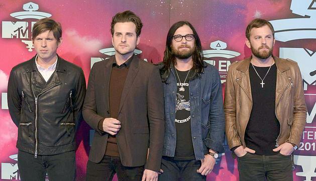 Kings of Leon, la banda estatunidenca de rock, actuarà al Festival Internacional de Benicàssim