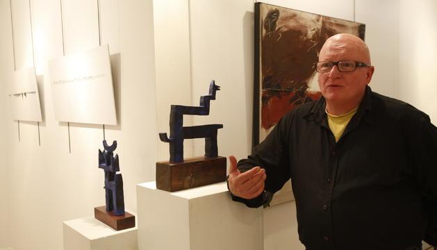 Faust Campamà, escultor, pintor i comissari de l'Art Camp