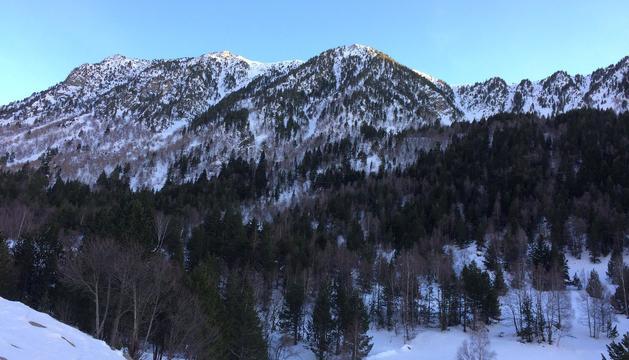 Vistes de la Vall del Madriu de del Coll JOvell