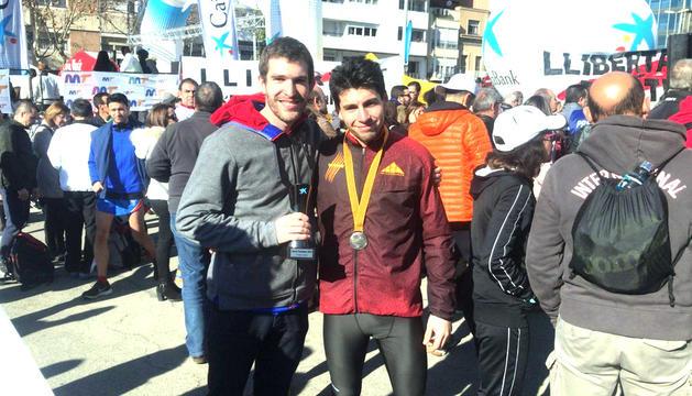 Carabaña, subcampió de Catalunya en 5 km