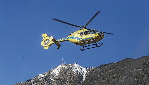 Un helicòpter de rescat.