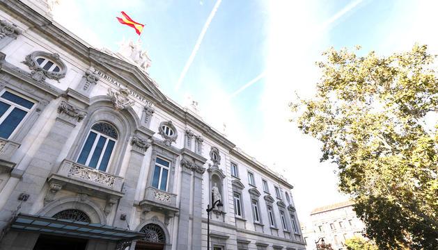 La façana del Tribunal Suprem espanyol.