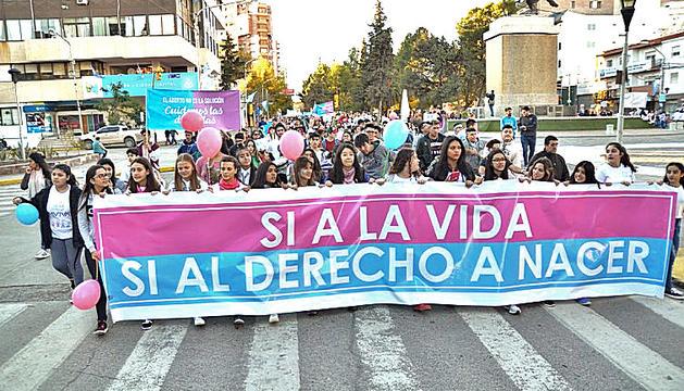Una manifestació reivindicant el dret a la vida en totes les seves fases.