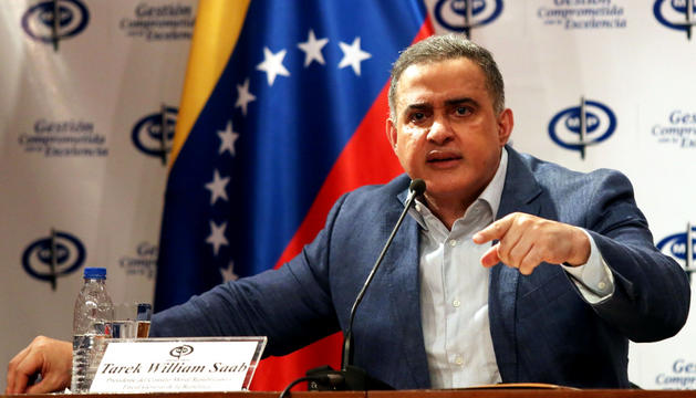 El fiscal general de Veneçuela, Tarek Wiliiam Saab.