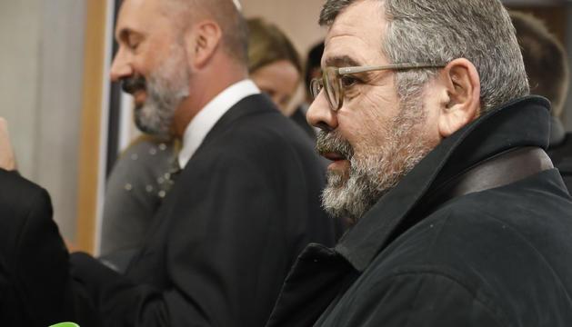Jean Michel Rascagneres i, al fons, Joan Martínez Benazet.