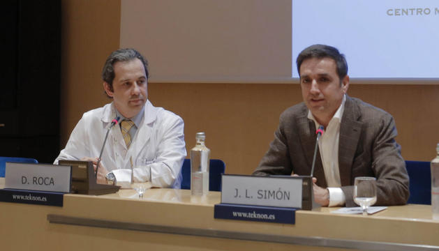 David Roca durant unes jornades formatives a la Clínica Teknon de Barcelona.