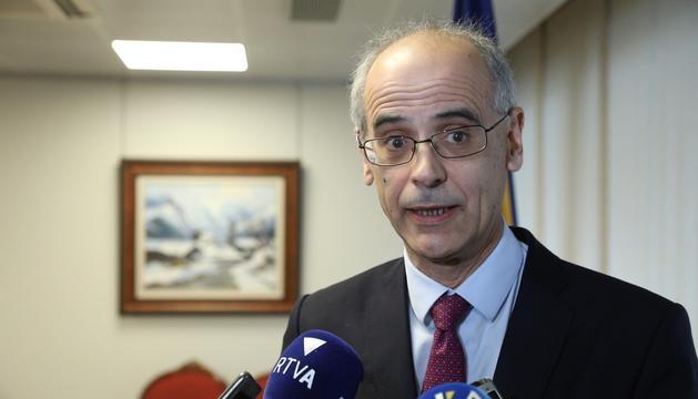 Toni Martí, cap de Govern