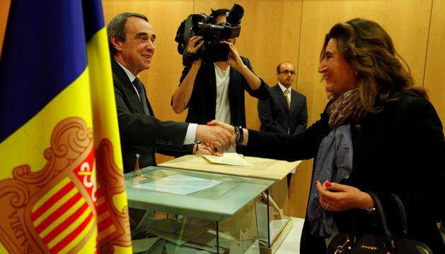 Ruth Vila va ser la número dos dels liberals a la circumscripció parroquial d'Andorra la Vella el 2015.