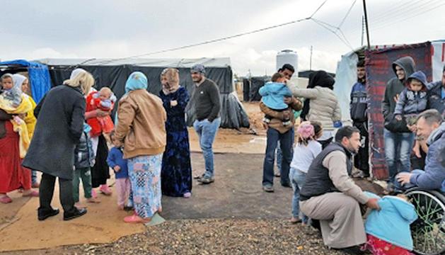 Albert Llovera visita els programes d'Unicef a Jordània