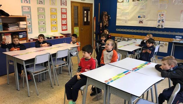 Els alumnes van fer el taller 'Som paisatge'.