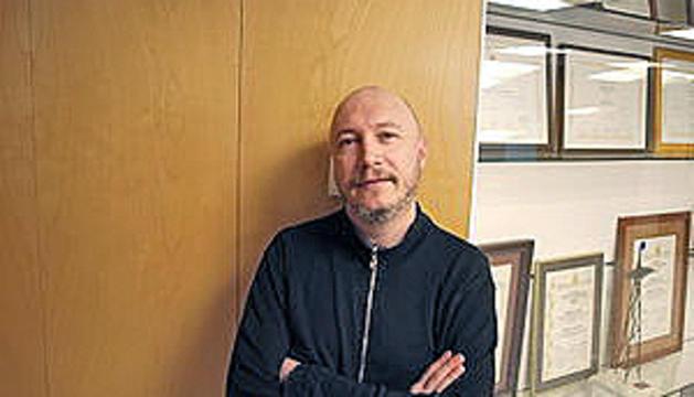 El protagonista, Xavier Bertran ('Lo Cartanyà').