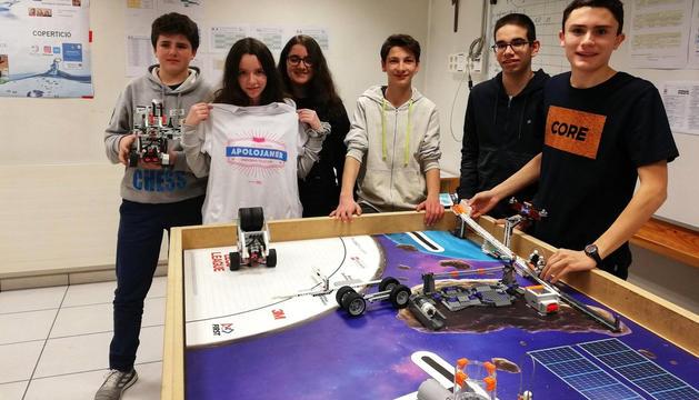 Els alumnes es preparen per a la First LEGO League