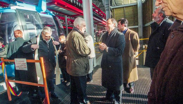 El cònsol Jordi Mas va impulsar el projecte del Funicamp