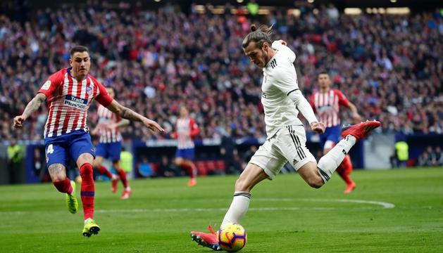 Gareth Bale va aconseguir així el tercer gol del Madrid.