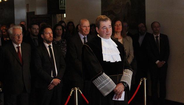El nou magistrat del Tribunal Constitucional, Joan Manel Abril