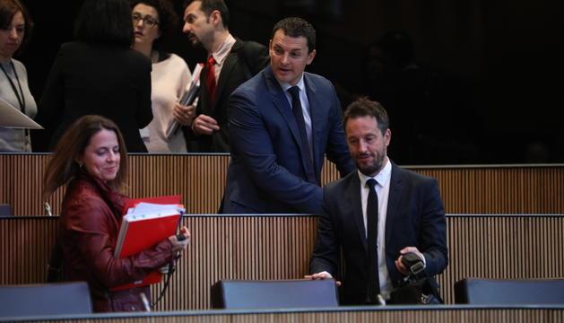 Pere López i Jordi Gallardo al Consell General
