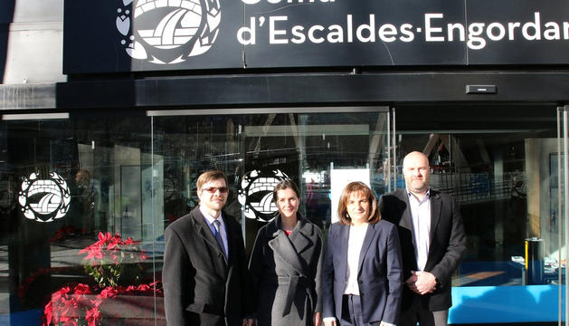 Els experts de l'OSCE visiten el comú d'Escaldes