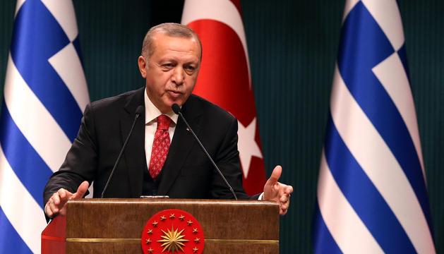 El president de Turquia, Recep Tayyip Erdogan.